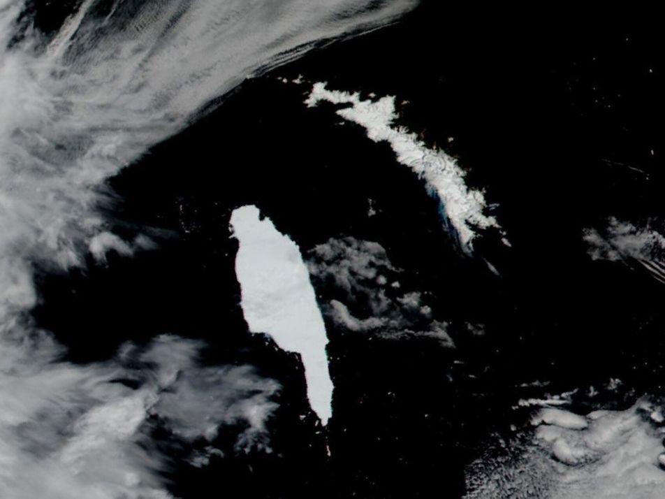 O Maior Icebergue do Mundo Dirige-se Para a Ilha Geórgia do Sul – e Respetiva Vida ...