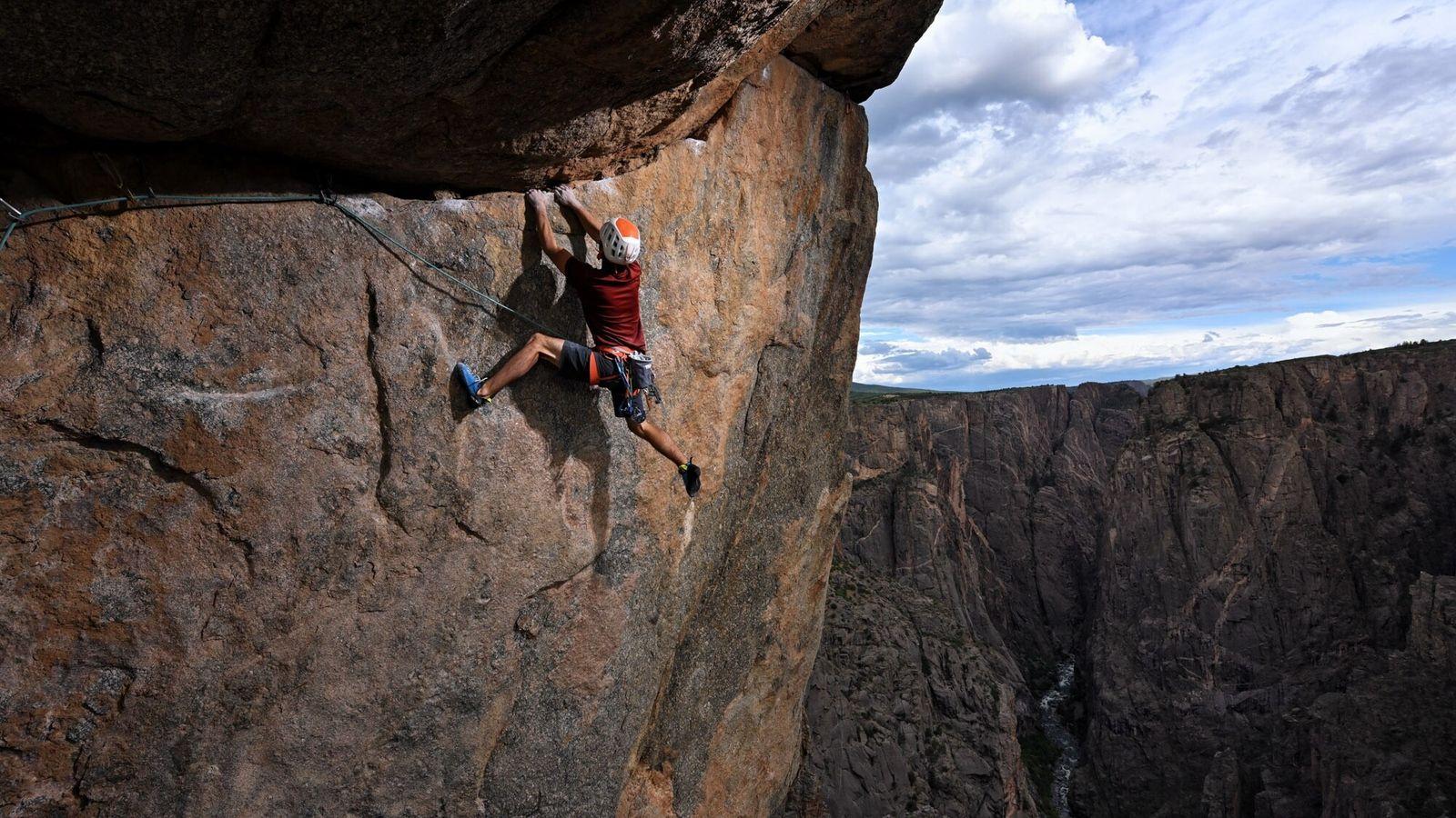 """""""Temos os penhascos mais altos do Colorado, e isso é especial porque o Colorado tem muitos ..."""