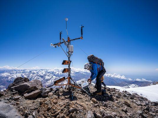 A estação meteorológica mais alta dos Andes vai ajudar os cientistas a procurar respostas climáticas