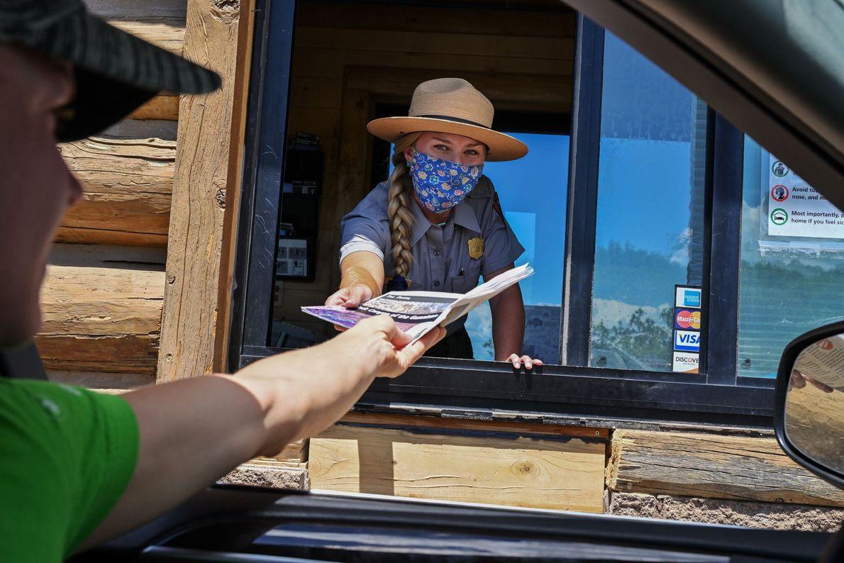 A popularidade de Black Canyon está a crescer, com um aumento acentuado de visitantes nos últimos ...