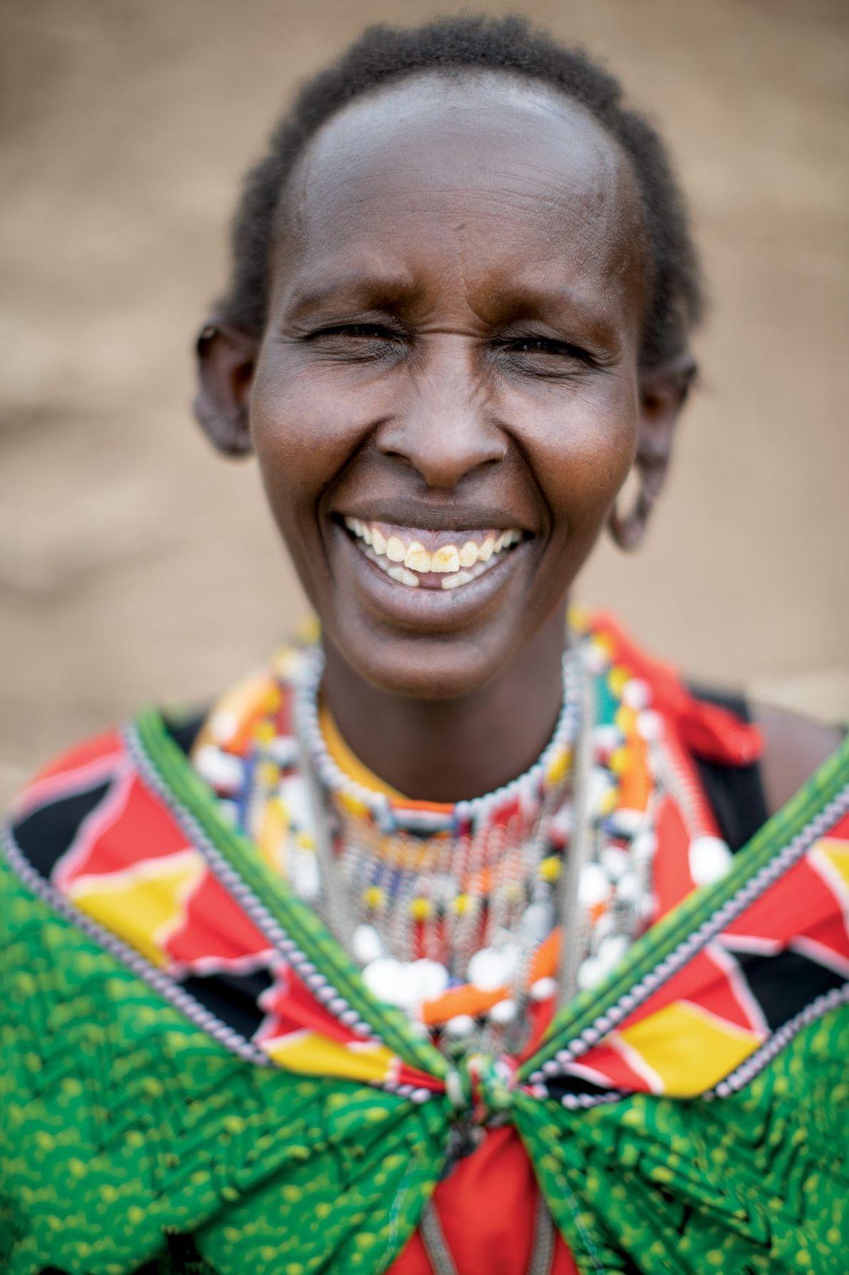 Uma mulher que ganhe dinheiro é algo que vai contra as tradições Massai, mas Noolamala Taek ...