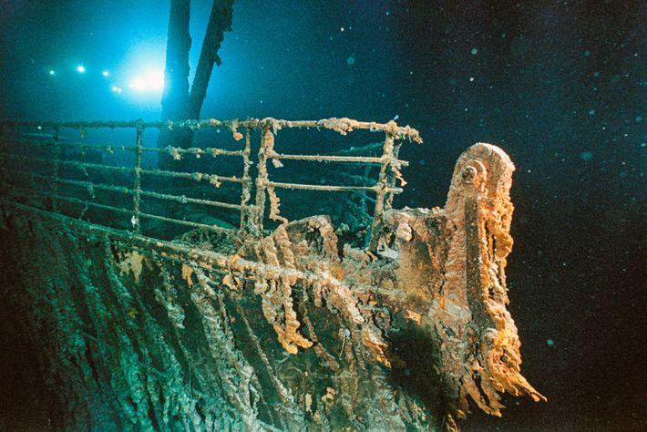 RMS Titanic, 1985