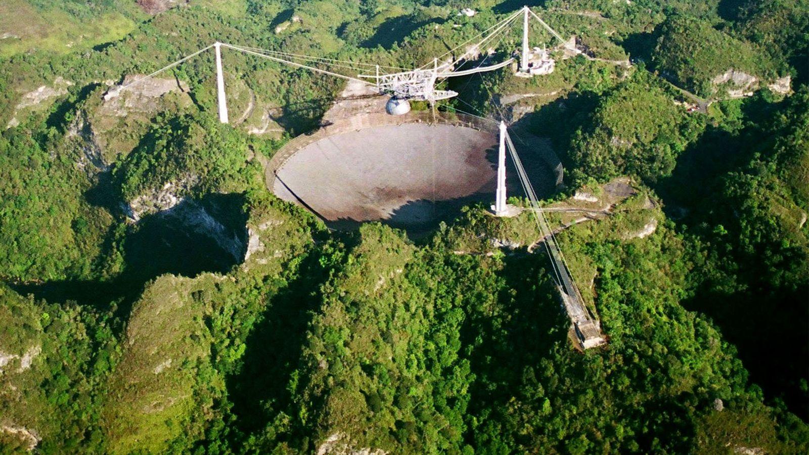 Observatório de Arecibo, em Porto Rico