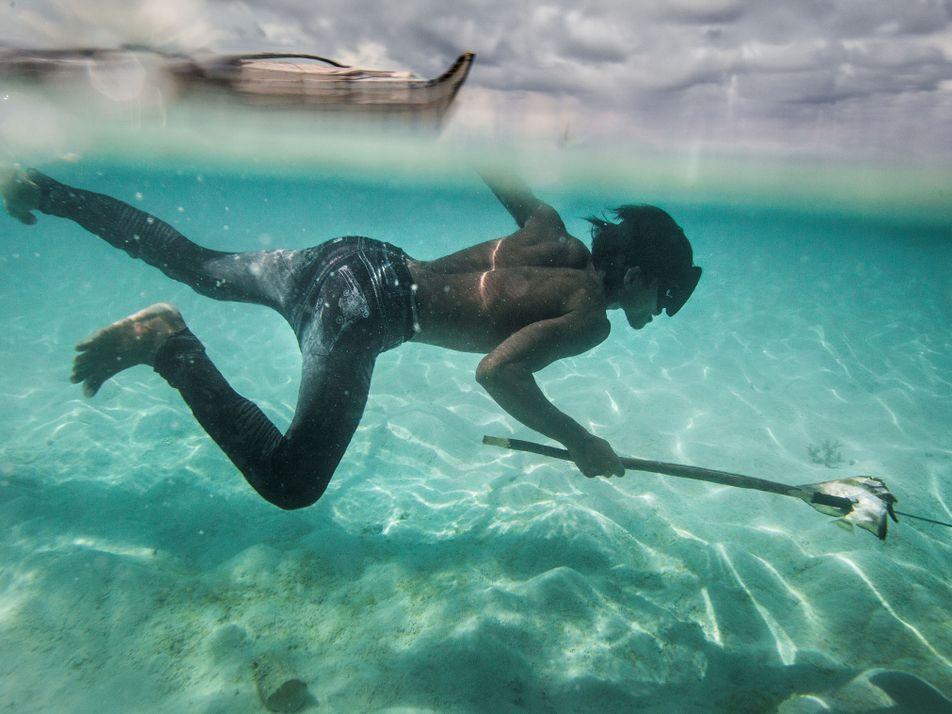 Fotografias da Pesca Submarina dos Bajau