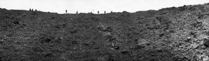 Destruição causada por uma mina, Batalha de Messines