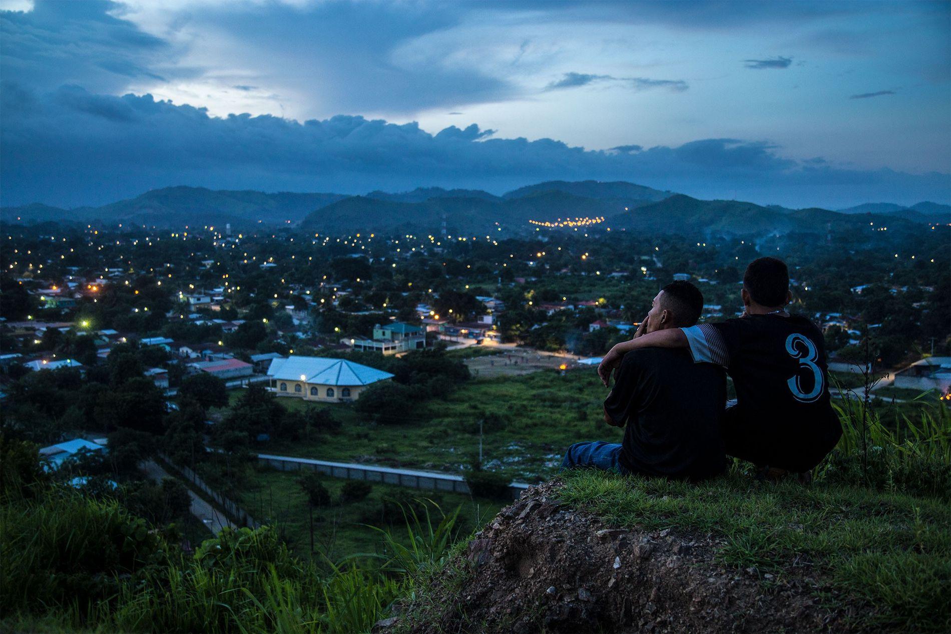 Violência e Gangs nas Honduras