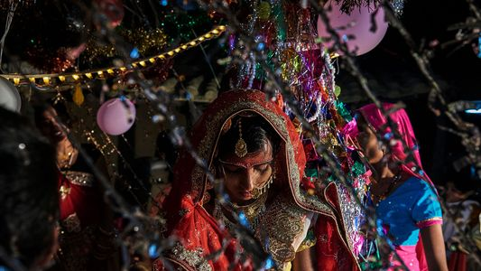 Fotografias das Jovens Noivas da Índia