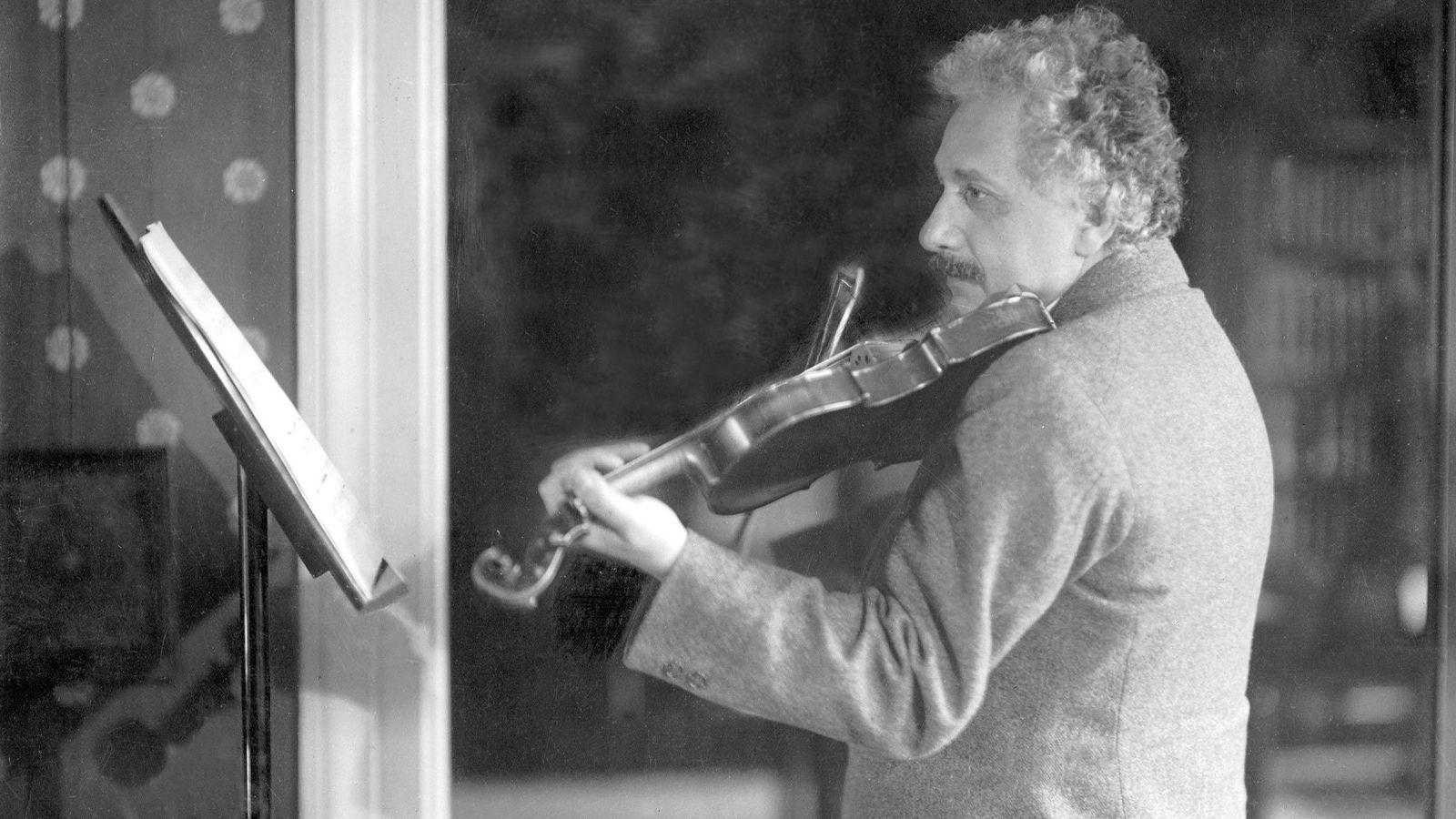 Einstein Violinista