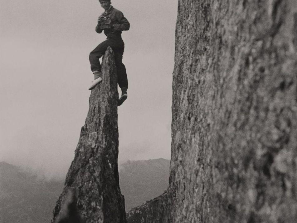 Imagens de Miriam O'Brien: Escalada Sem a Figura Masculina