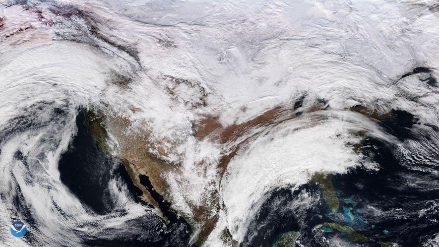 Com um único dia de observações meteorológicas a nível global, os cientistas conseguem agora detetar um ...
