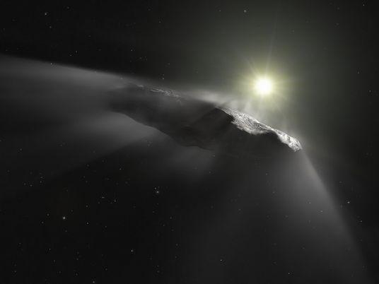 Meteoro Interestelar Pode Ter Atingido a Terra