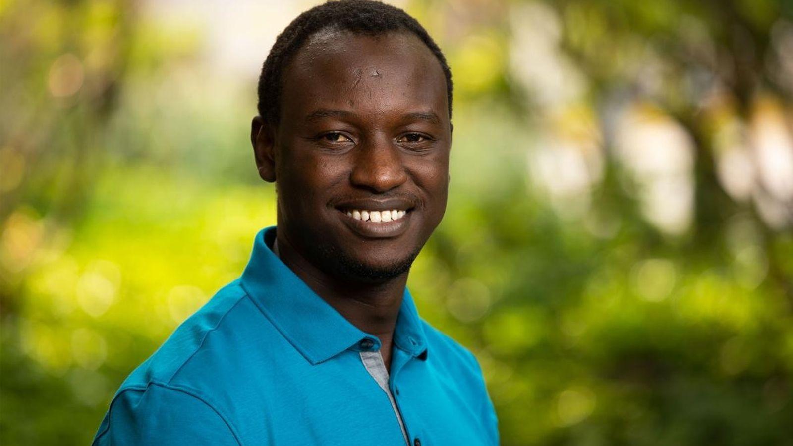 Hans Cosmas Ngoteya, explorador da National Geographic.