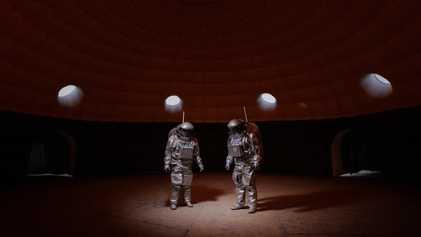 Uma Missão do Outro Mundo Que Prepara Humanos Para Marte