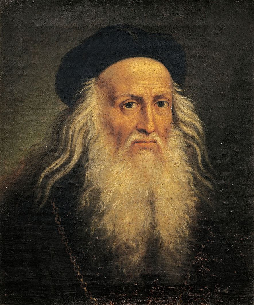 Leonardo da Vinci foi notável em muitas áreas. Foi pintor, arquiteto, engenheiro, cenógrafo - e homossexual, ...