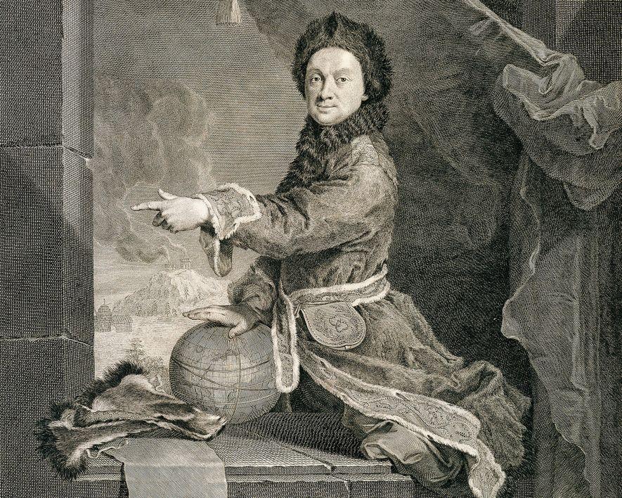 Um retrato de Pierre Louis Moreau de Maupertuis, a quem o temperamento pode ter custado fama ...