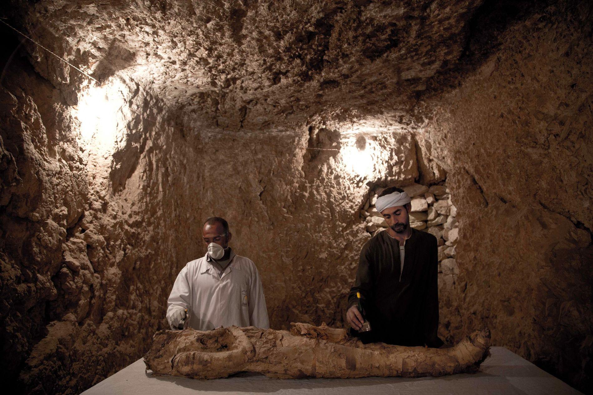 Múmia no Egito