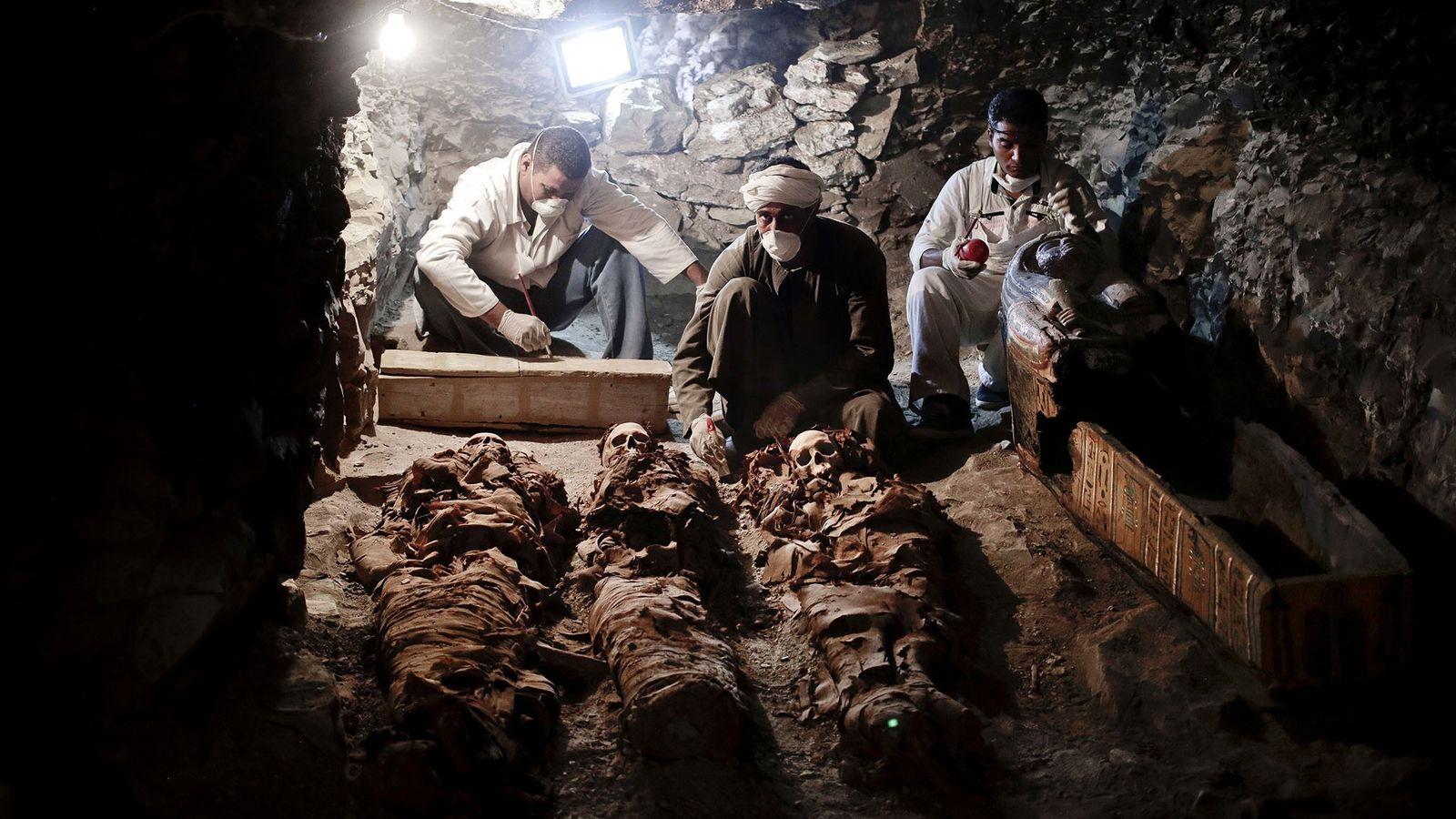 Descoberta de Túmulo Egípcio
