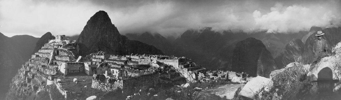 Panorâmica geral de Machu Picchu