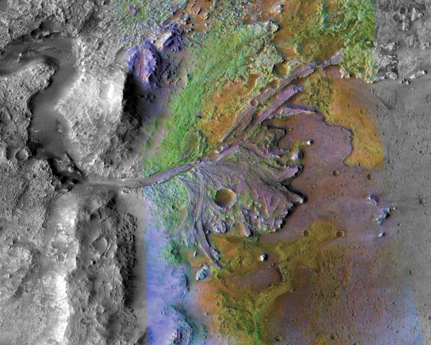 Rios Podem Ter Existido em Marte Durante Mais Tempo do que Pensado