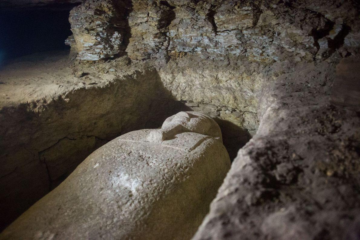 sarcófago cemitério Minya