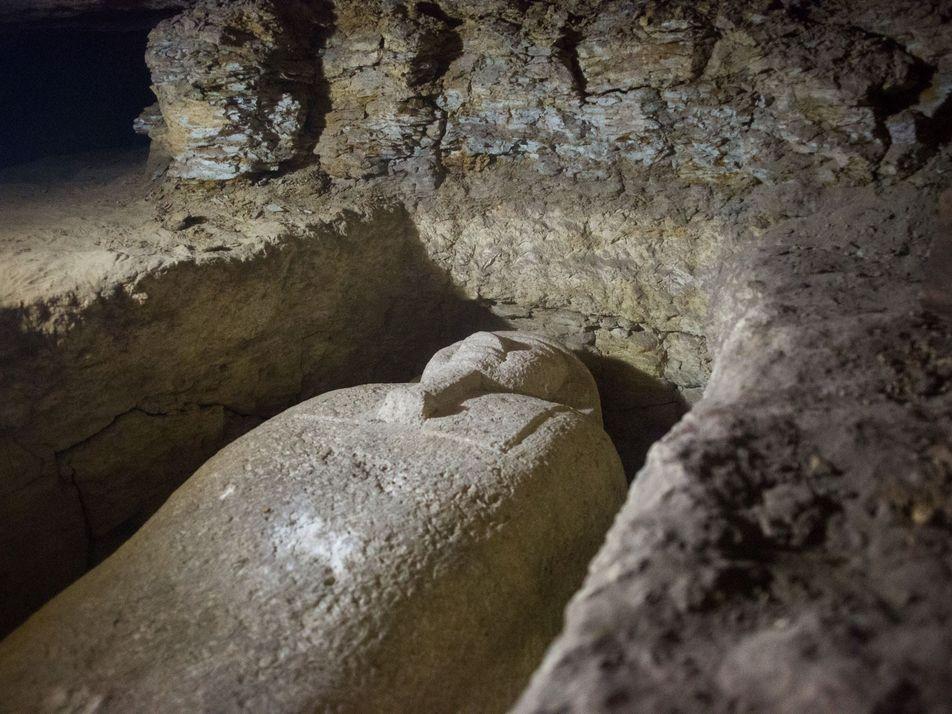 Veja o Interior Deste Antigo Cemitério Egípcio Recentemente Descoberto