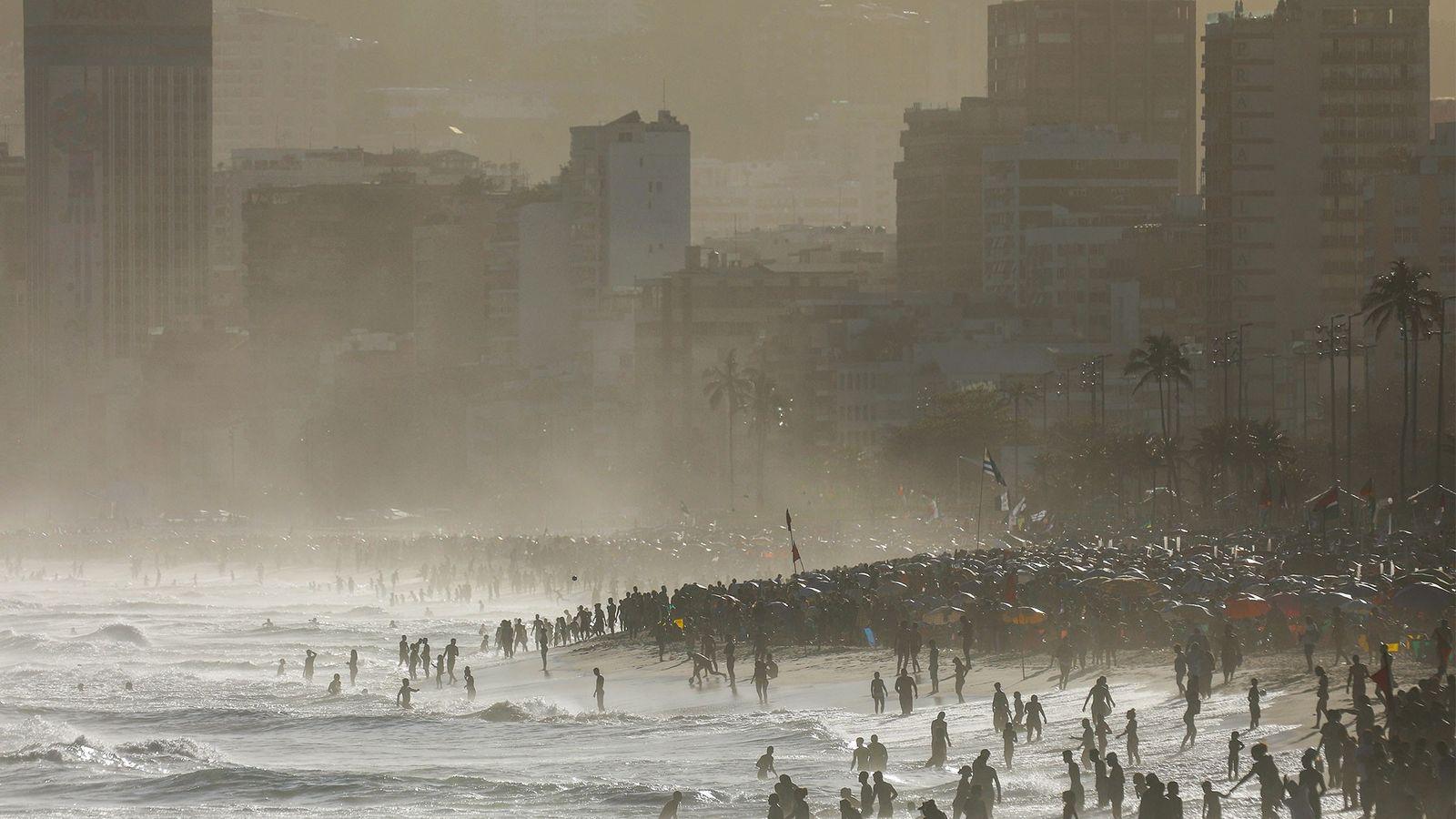 Temperatura Elevada dos Oceanos