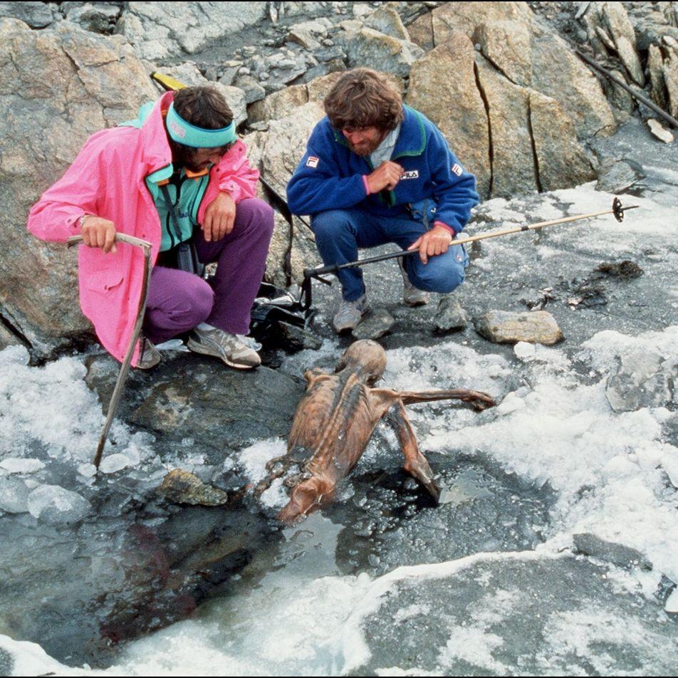 Escalada Final de Ötzi, o Homem do Gelo, Reconstruída por Cientistas