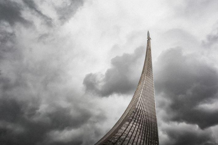 Monumento Conquistadores Moscovo