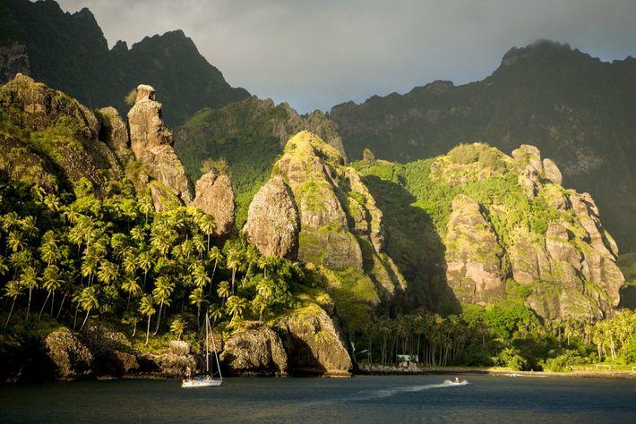 Um novo estudo de ADN aponta para a ilha de Fatu Hiva, no arquipélago das Marquesas, ...