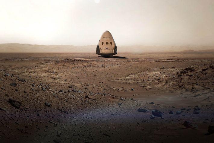 Cápsula Red Dragon da SpaceX