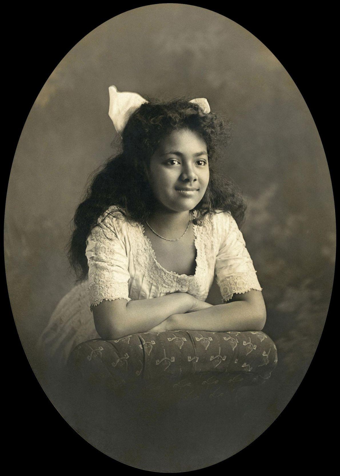 Salote Tupou III, a primeira rainha reinante de Tonga, e mãe de Tāufa'āhau Tupou IV, governou ...
