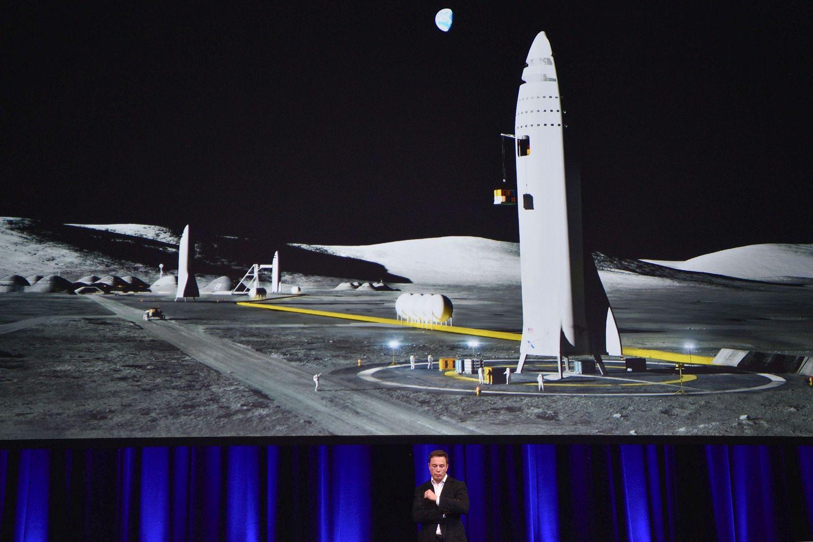 Elon Musk, fundador da SpaceX