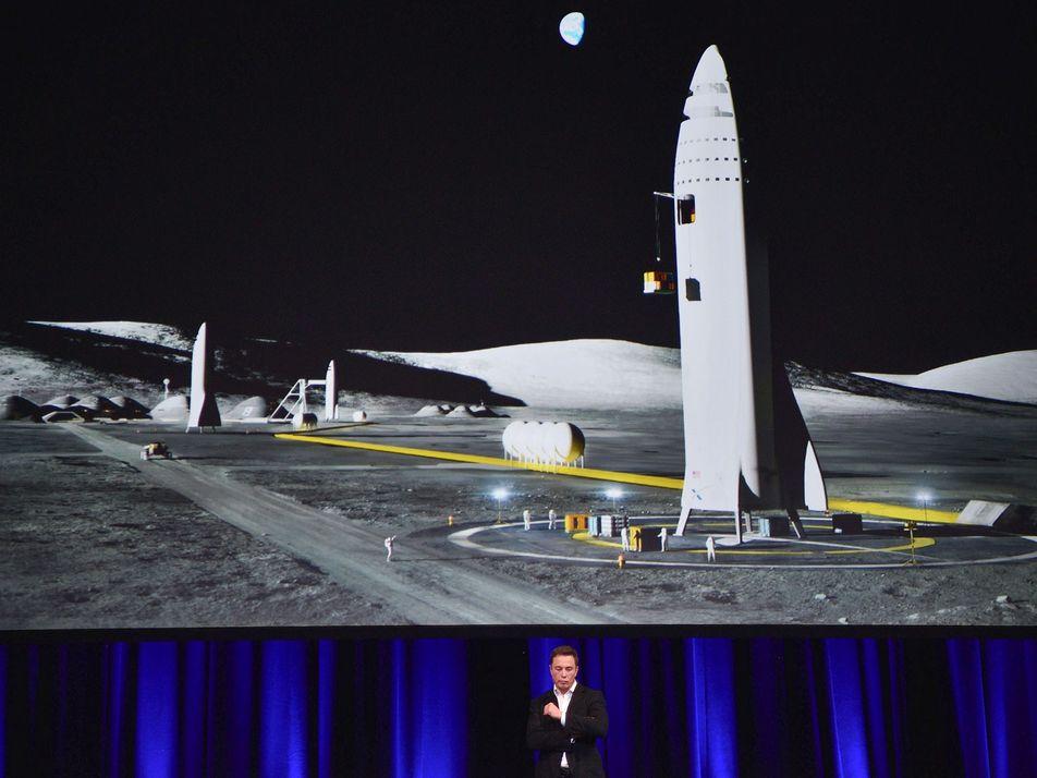 Elon Musk: Daqui a Sete Anos, a Space X Será Capaz de Levar Humanos a Marte