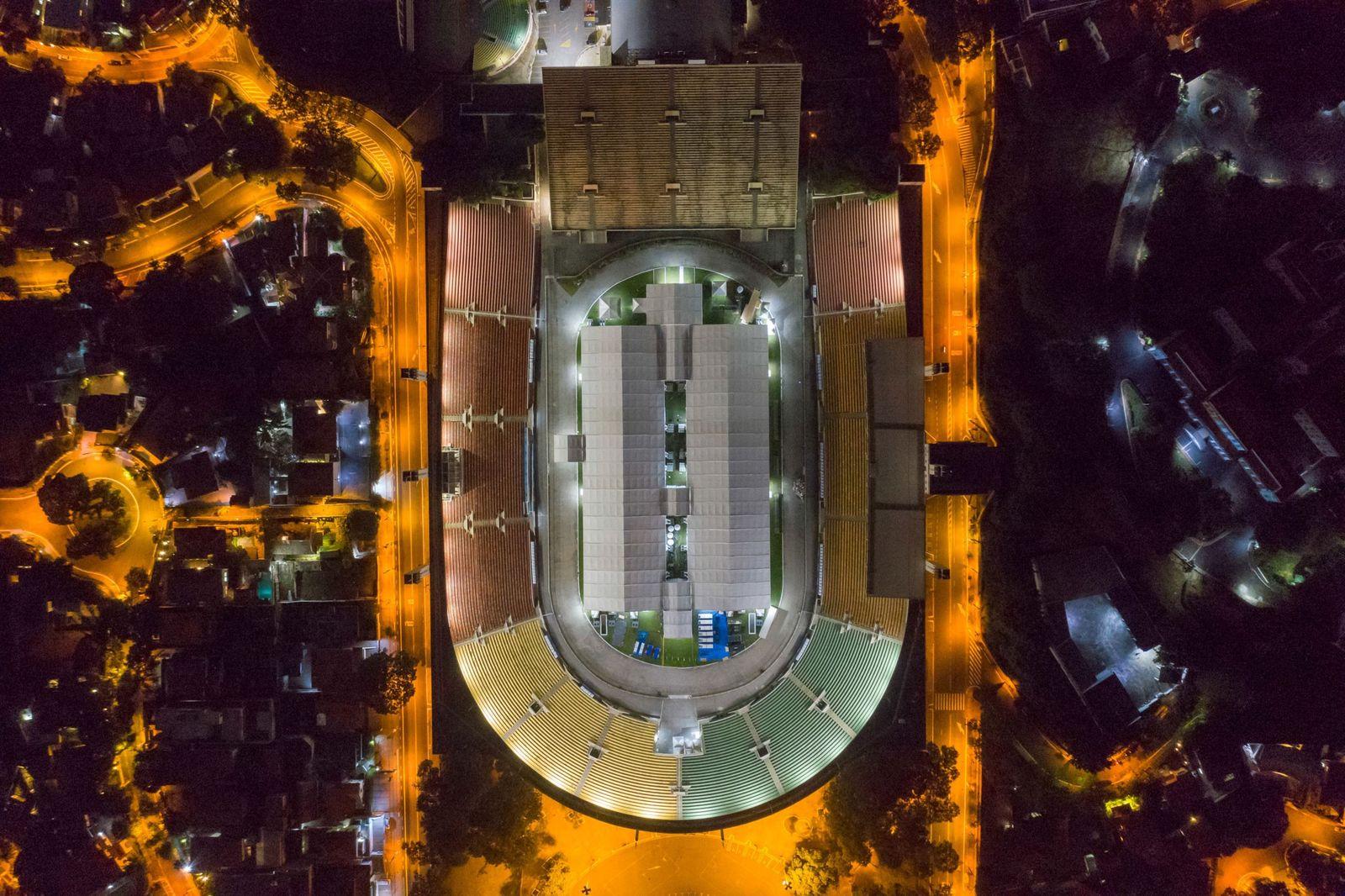 Estádios Desportivos Convertidos Para Ajudar na Luta Contra a Pandemia