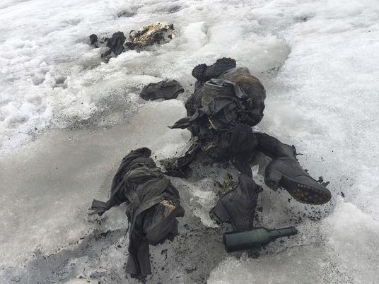 As Fotografias dos Corpos Desaparecidos na Neve Há 75 Anos, Agora Encontrados