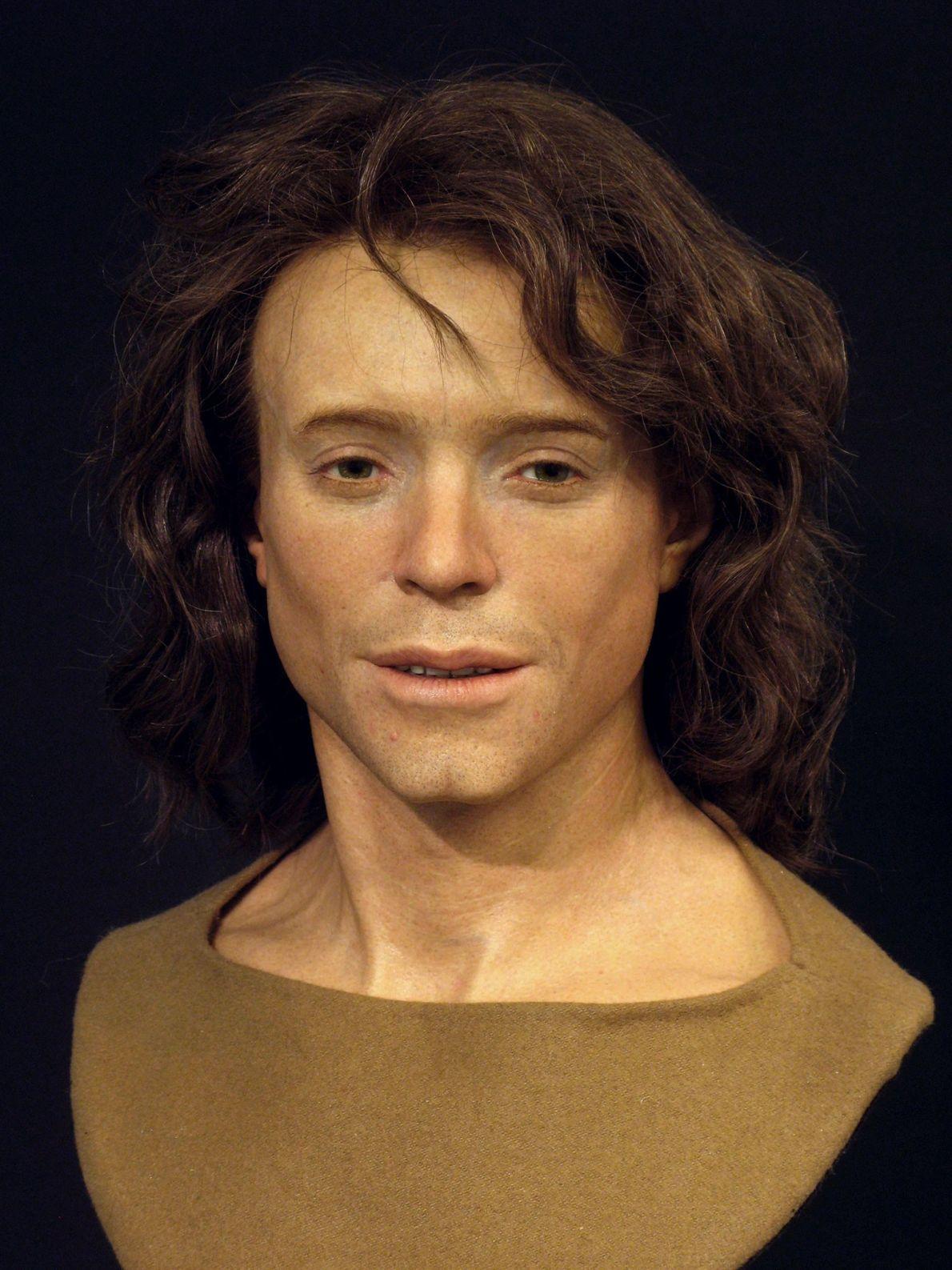 Adelasius Ebalchus viveu no norte da Suíça há 1300 anos. Adelasius estava no final dos seus ...