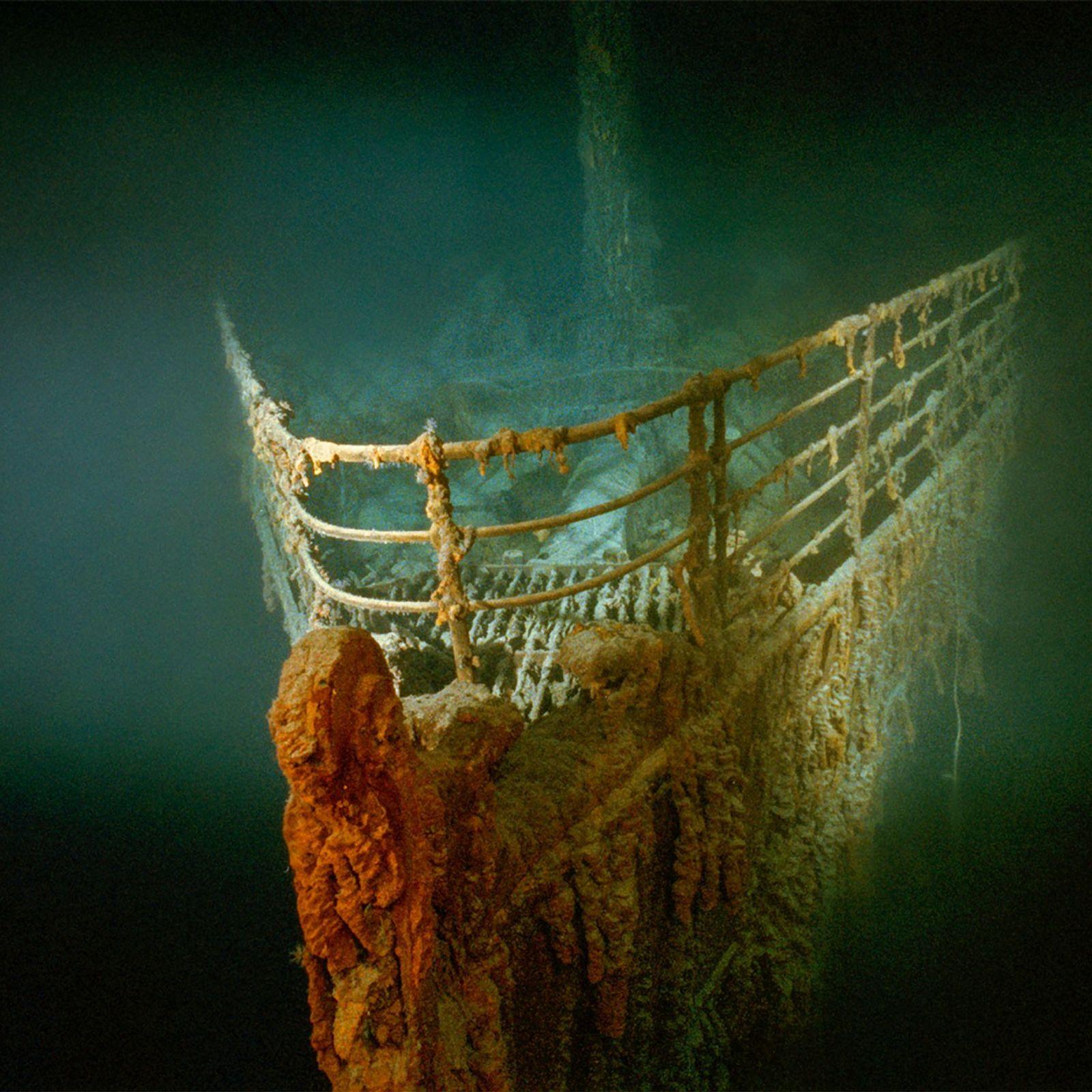 destroços do Titanic