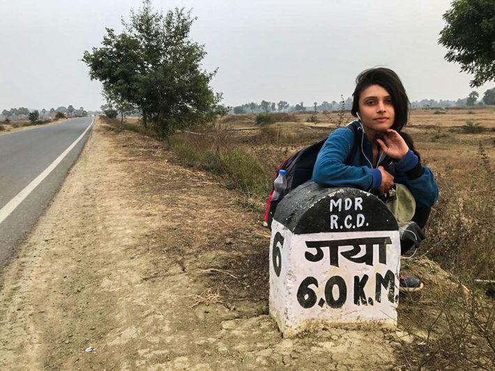 A jornalista Bhavita Bhatia é uma de 14 mulheres que se juntaram a Paul Salopek