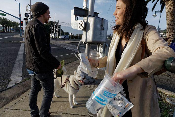 Kathryn Kellogg é uma blogger defensora do desperdício zero.