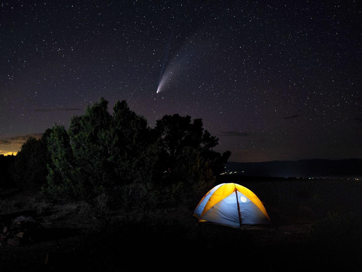 Os visitantes que querem fazer observação de estrelas com qualidade podem fazê-lo no Black Canyon, que tem ...
