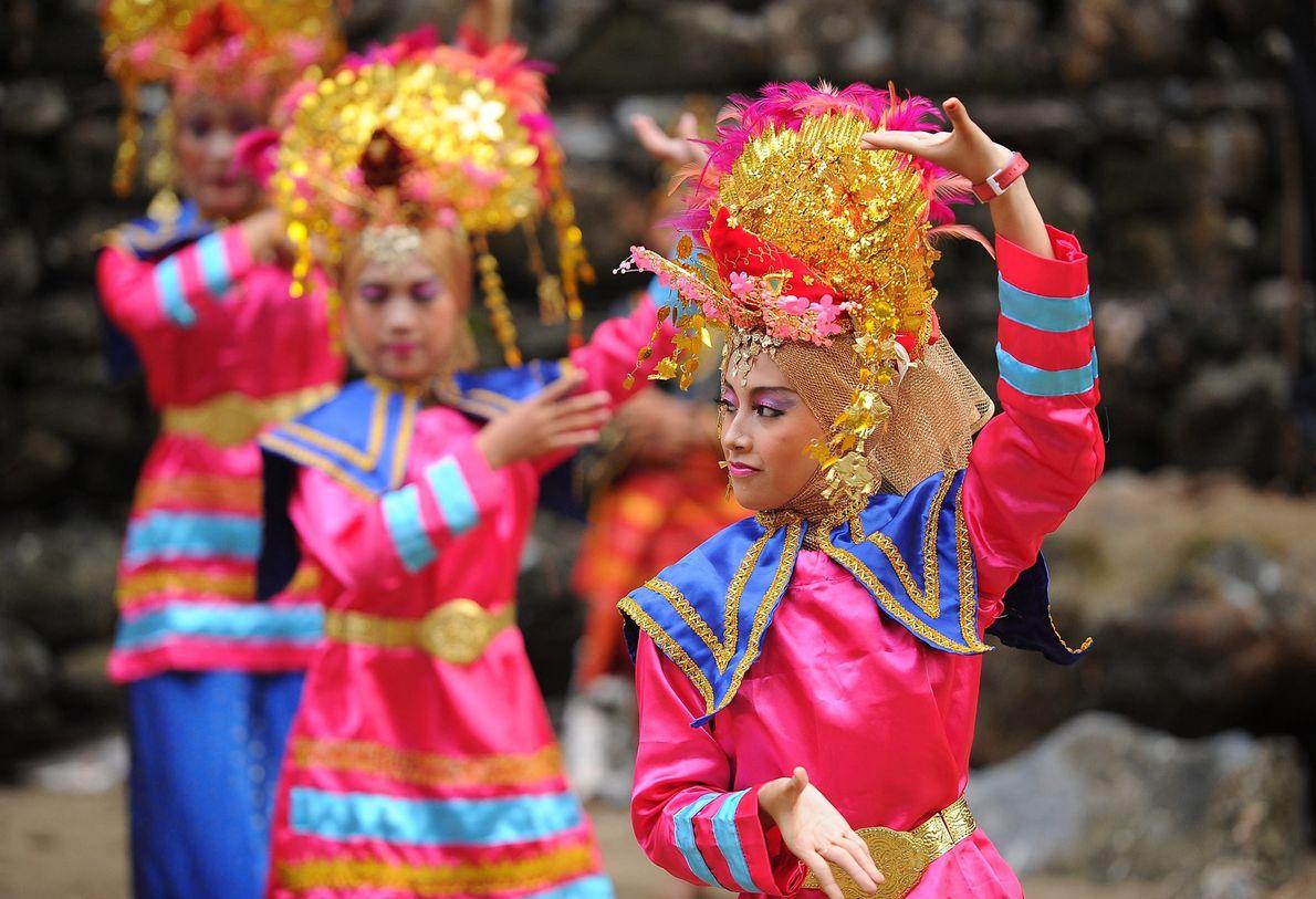 TERRAS ALTAS DE MINANGKABAU, INDONÉSIA