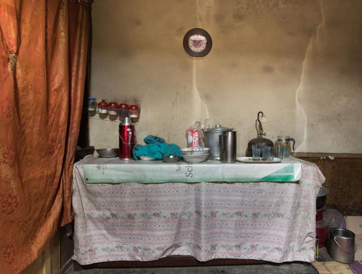 Cozinha Improvisada