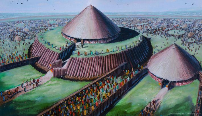 Ilustração do templo