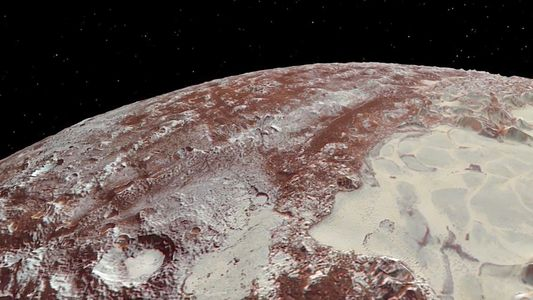Veja as Novas Animações de Plutão e da Sua Lua, Caronte.