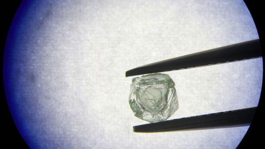 Diamante Bizarro 'Aninhado' Dentro de Outro Diamante