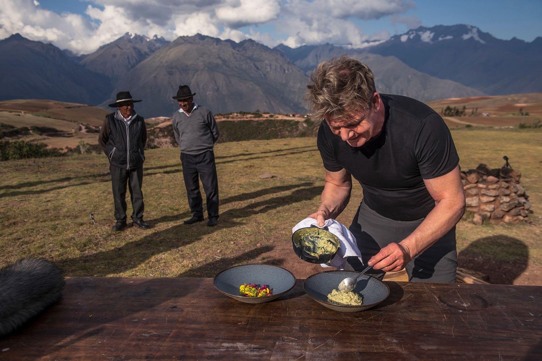 Explore o Mundo com Gordon Ramsay