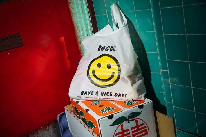Sacos de plástico (Thank you bags)