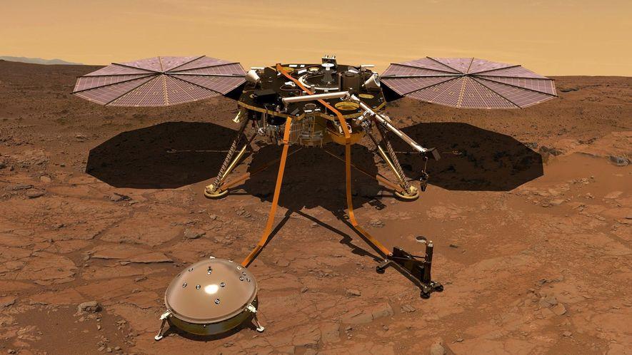 Marte: Descobertas Pulsações Magnéticas Misteriosas