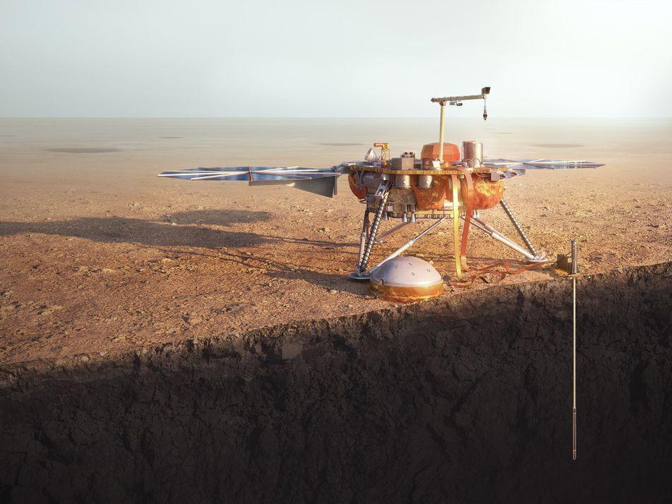 Nova Sonda Pousa em Segurança em Marte. O Que Vai Acontecer a Partir de Agora?