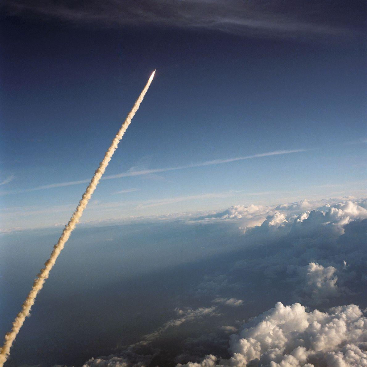 Vaivém Challenger no Espaço